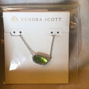Kendra Scott Elisa Necklace (August Birthstone)